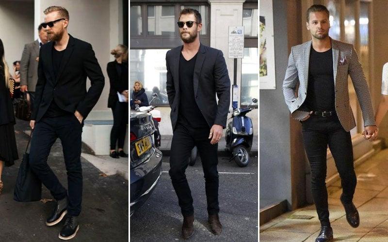 Black Jeans with Blazer