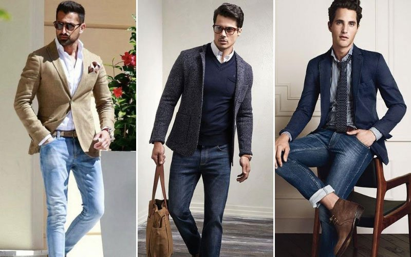 Blazer with Jeans Combination