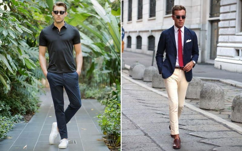 Casual Chinos vs Formal Chinos