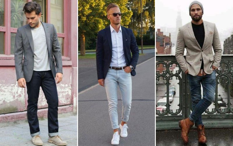 Shoes To Wear with Blazer and Jeans
