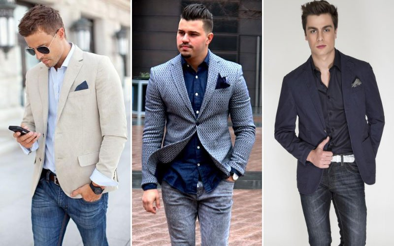 Sports Blazer and Jeans