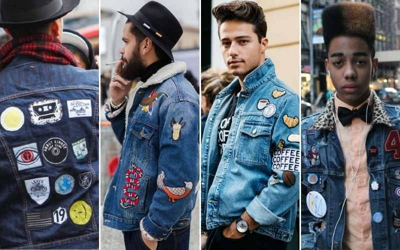 Denim Jacket Patches