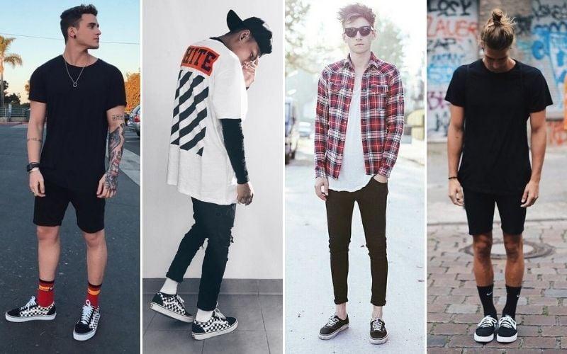 Skater Style Socks