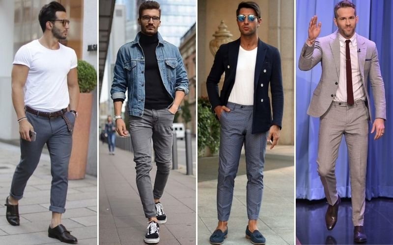 Types of Grey Pants