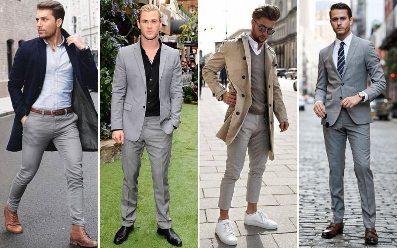 What Colors Go with Grey Pants