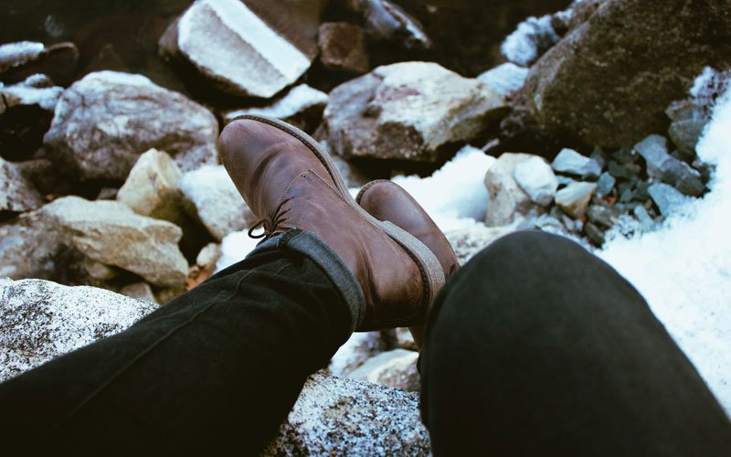 You Can Wear Brown Boots with Black Pants