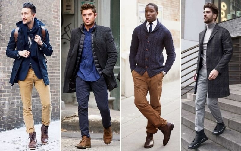 Chinos with Boots
