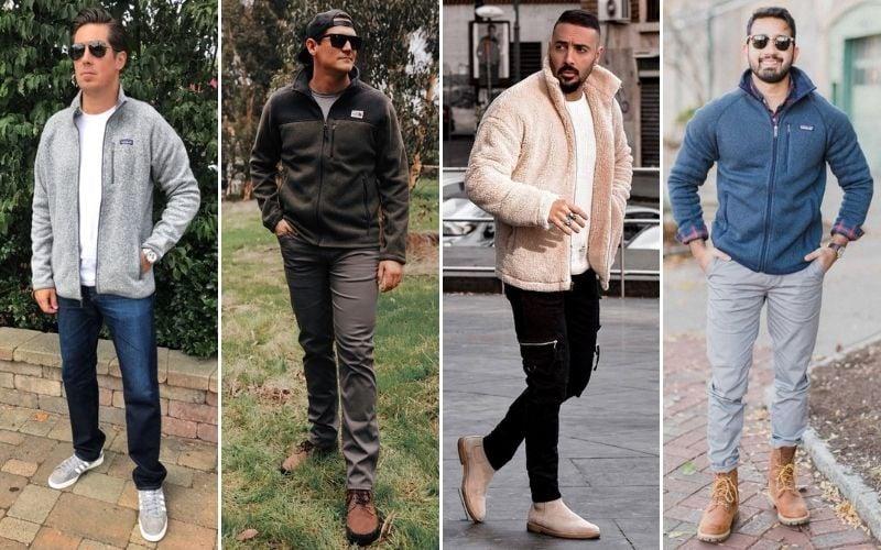 Fleece Jackets Men
