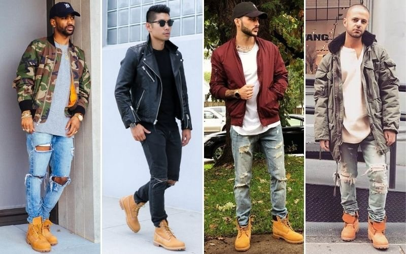How To Wear Timbs with Jeans