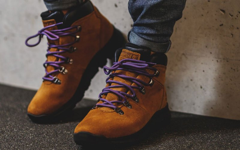 Mid Height Timberland Boots