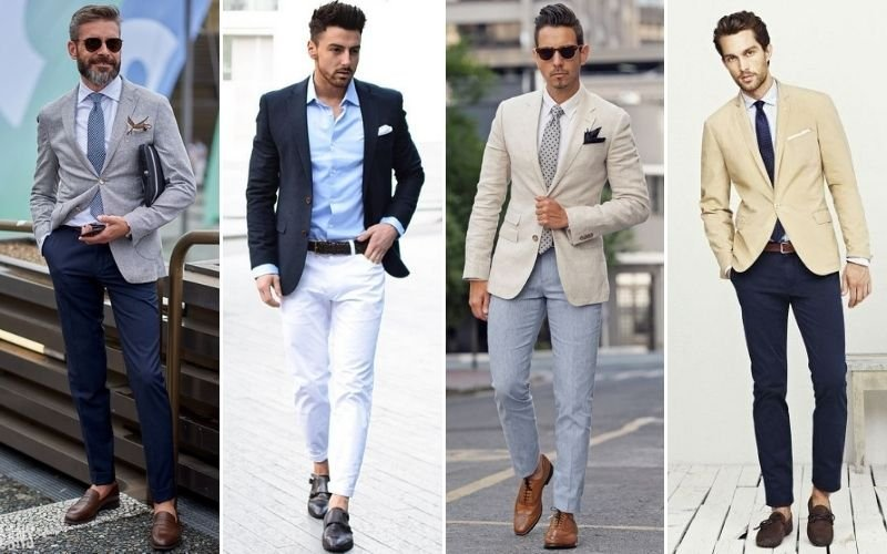 Semi-Formal Chino Pants Outfits