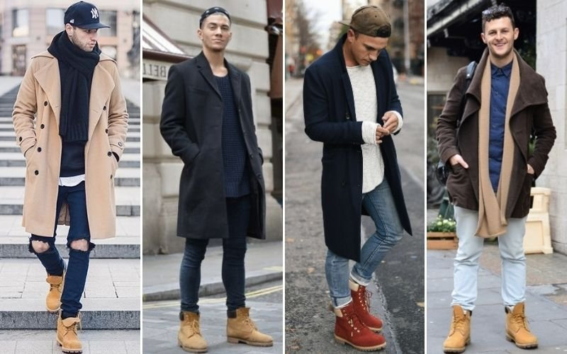 Timberland Boots with Coat