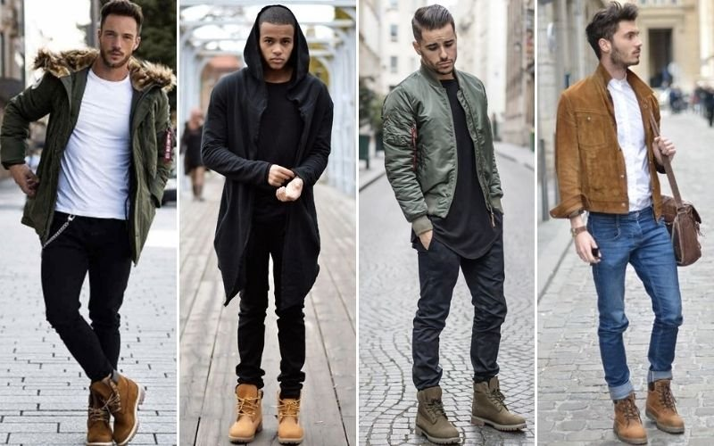Timberland Boots with Jeans