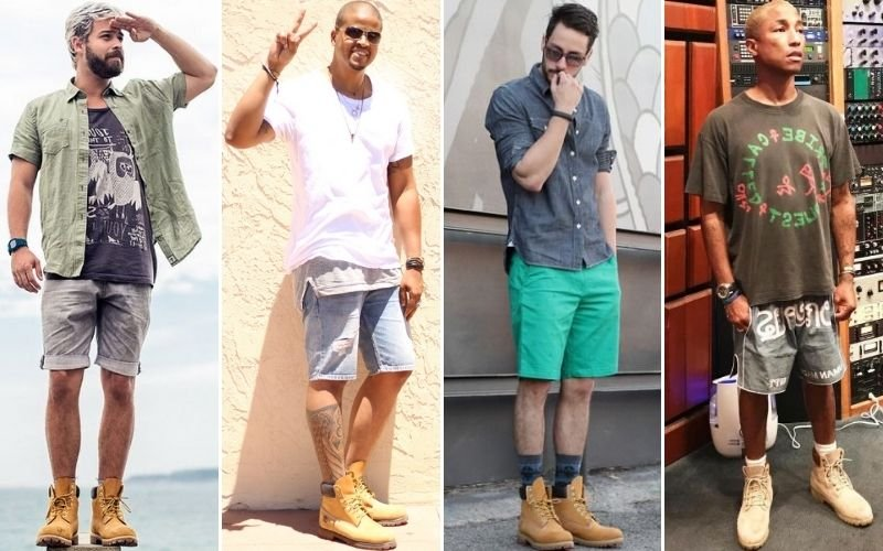 Timberland with Shorts