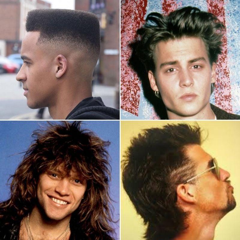 80s Men's Hair