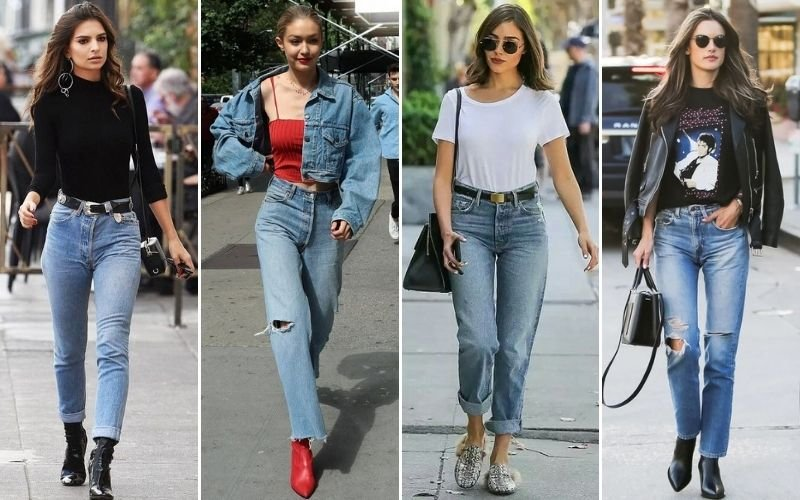 80s Mom Jeans Outfits