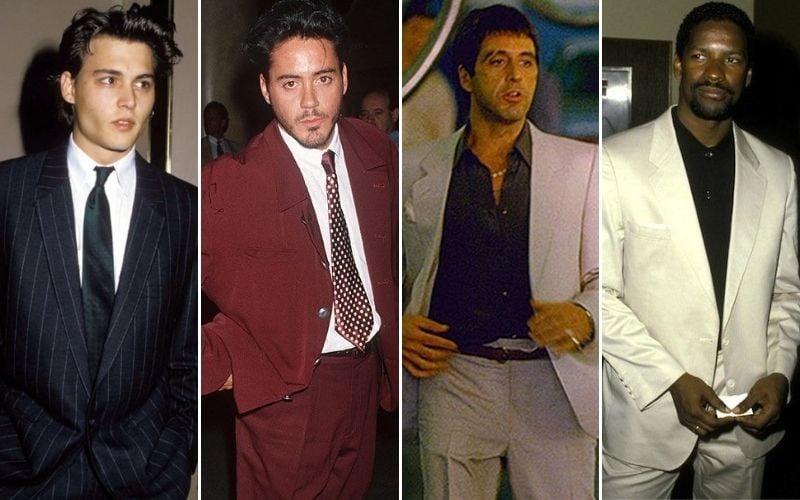 80s Suits Style Men