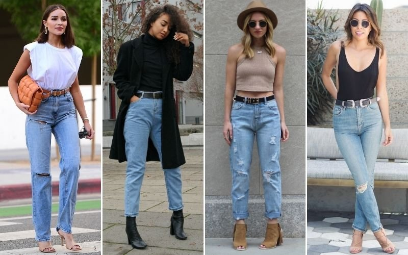 Belts To Wear with Mom Jeans