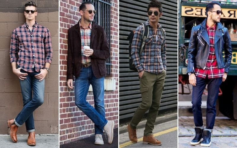 Casual Flannel Shirt Outfits