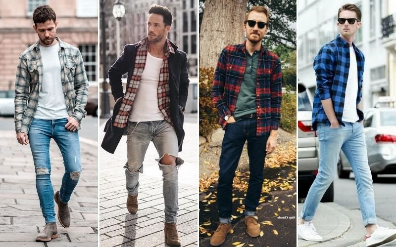 Ways To Wear A Flannel Shirt