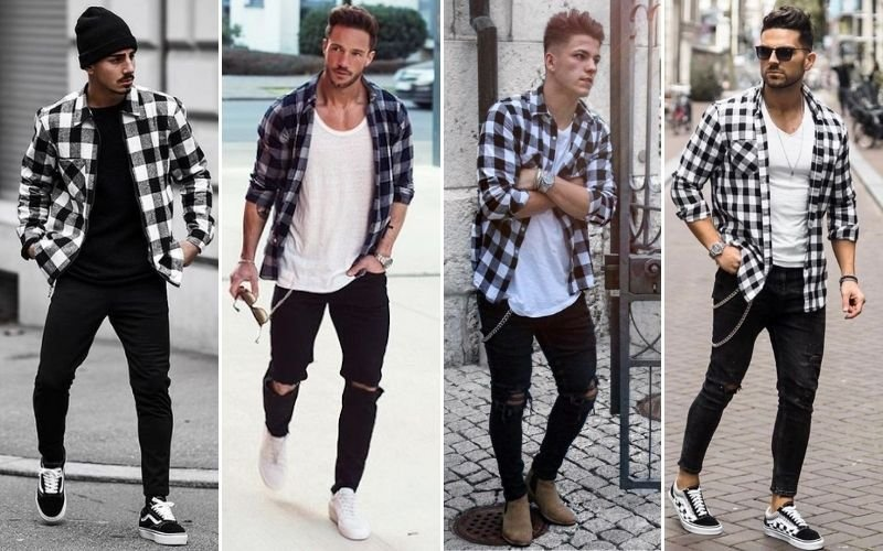White Flannel Outfits