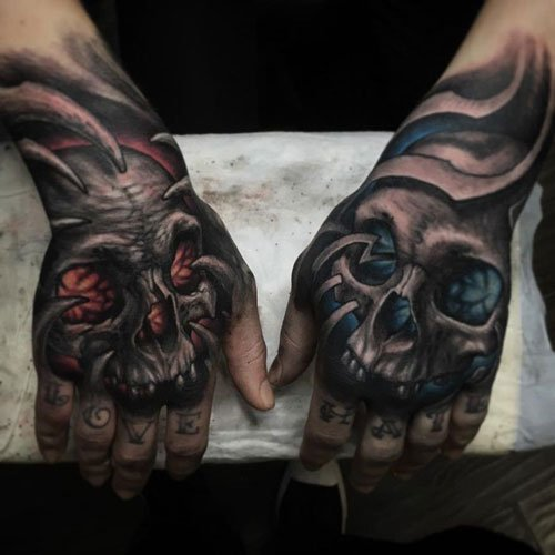 Cool Skull Tattoo Design Ideas