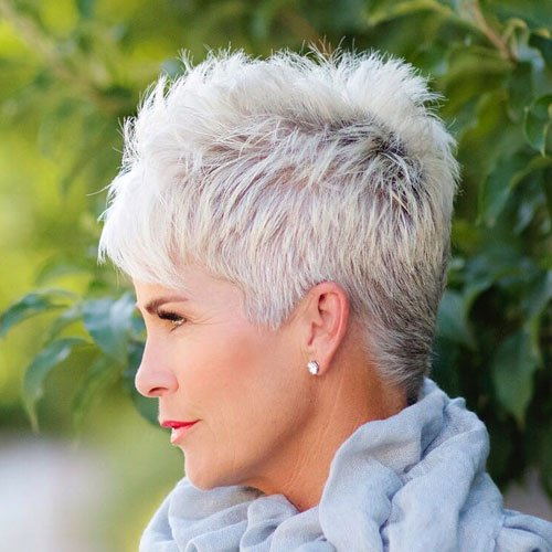 Pixie Cut For Older Women