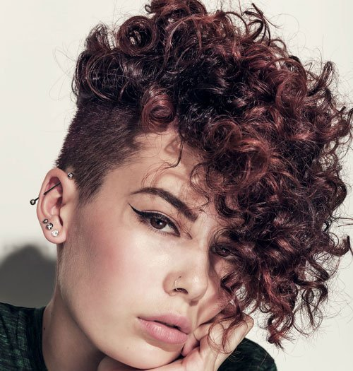 Pixie Haircut For Curly Hair