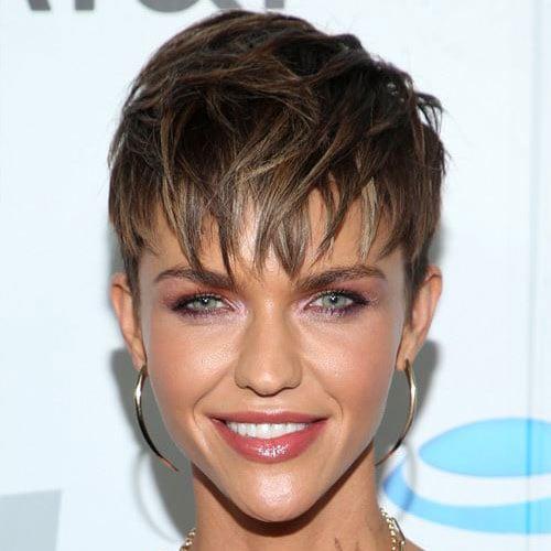 Short Pixie Cut Hair Styles