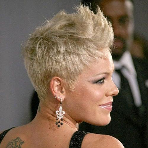 Short Pixie Faux Hawk Haircuts