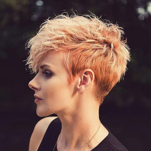 Short Textured Pixie Haircuts