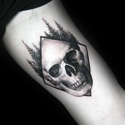 Small Skull Tattoo
