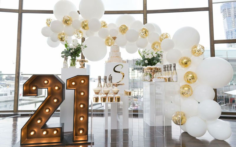 21st Birthday Party Ideas