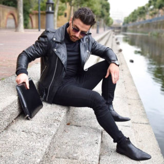 Black Outfits Men