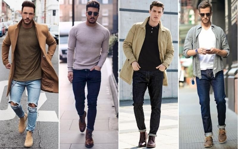Men's Boots To Wear with Jeans