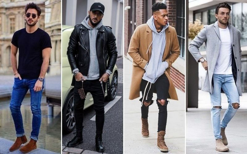 Men's Casual Boot Outfits