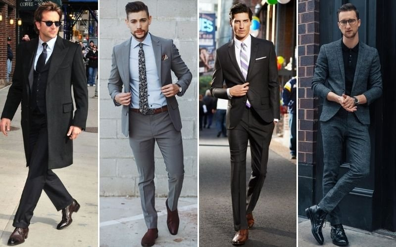 Men's Formal Boots Outfits