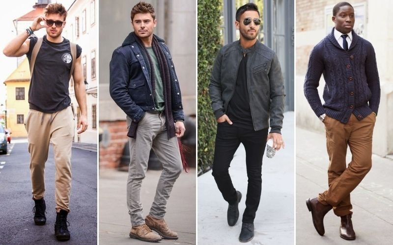 Men's Pants To Wear with Boots