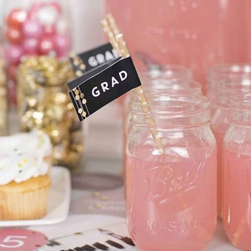 Add Cute Paper Straws To Decorate Drinks