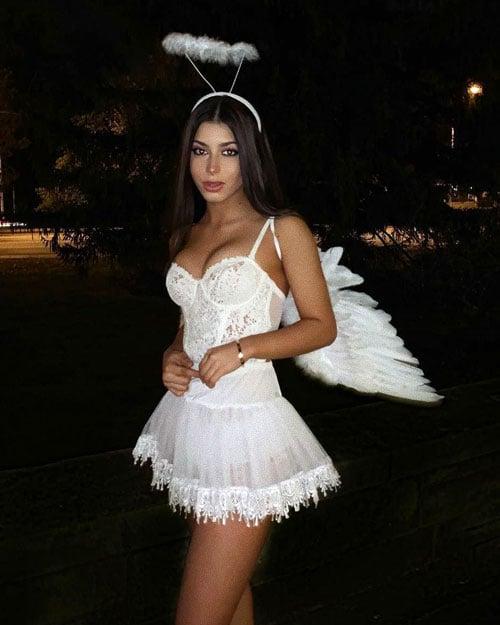 Angel College Halloween Costume