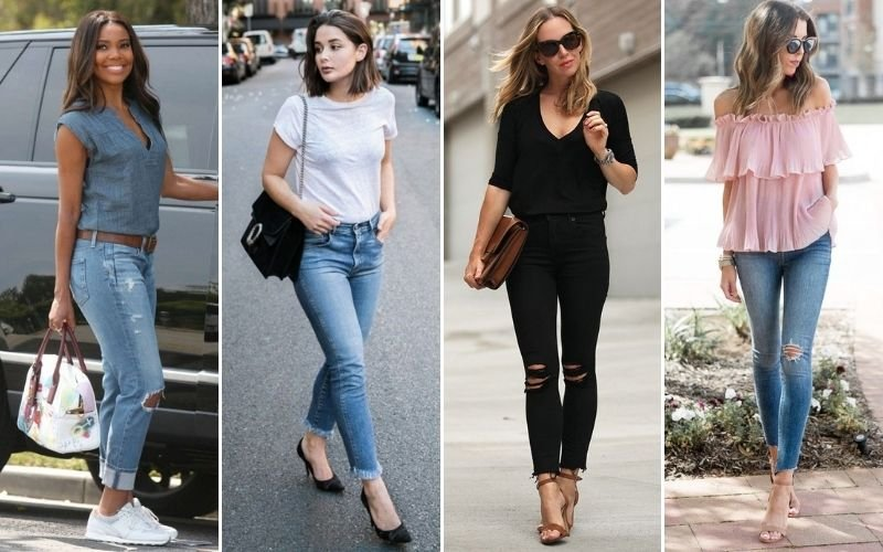 Brunch Outfits with Jeans