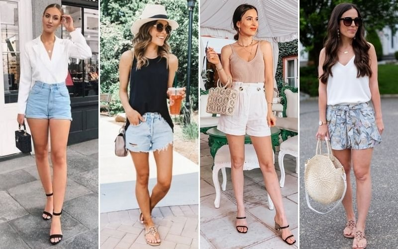 Brunch Outfits with Shorts
