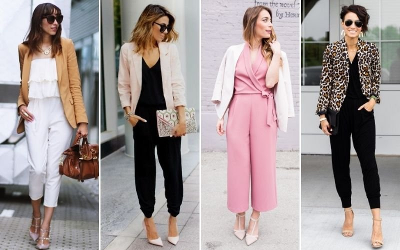 Business Casual Jumpsuits