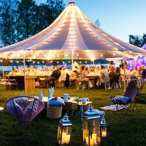 Get A Tent For A Backyard Party