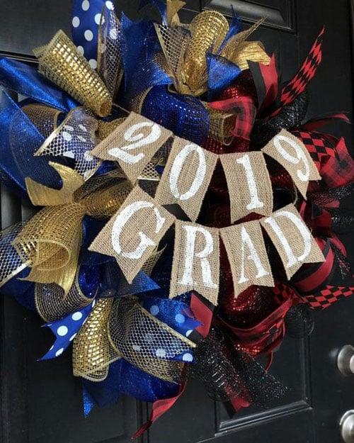 Graduation Wreaths