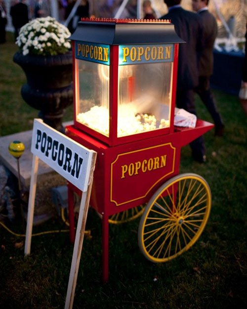 Have A Popcorn Machine