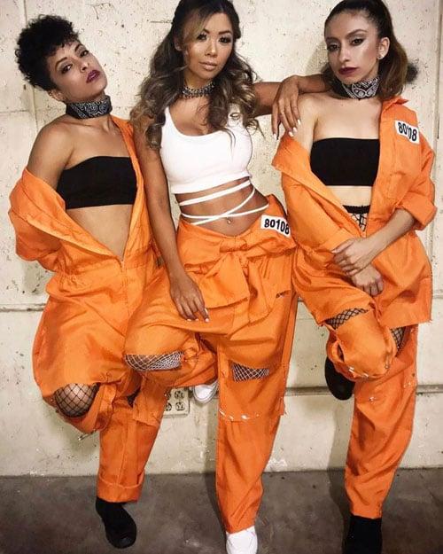Prisoner College Halloween Costume
