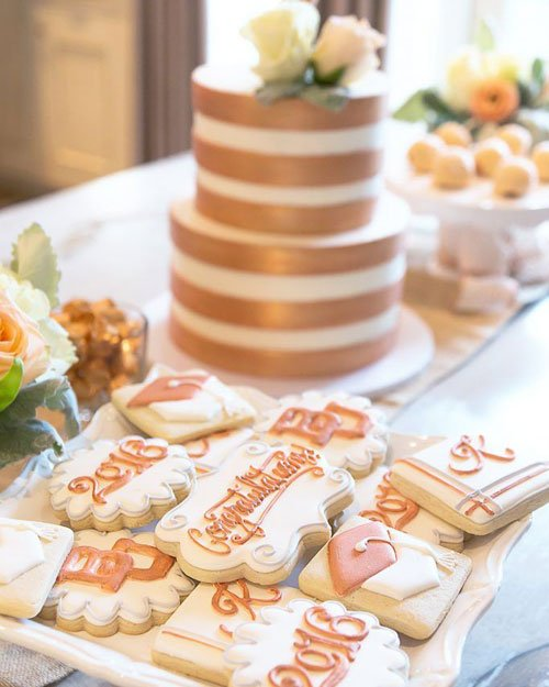 Rose Gold Themed Decorations