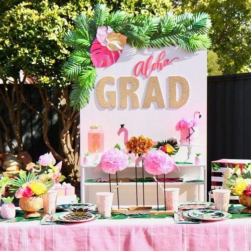 Tropical Island Graduation Theme