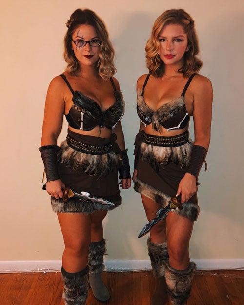 Viking College Halloween Costume